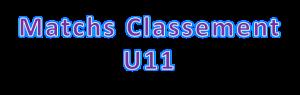 U11matchclassement