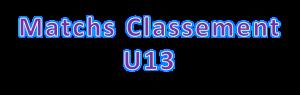 U13matchclassement